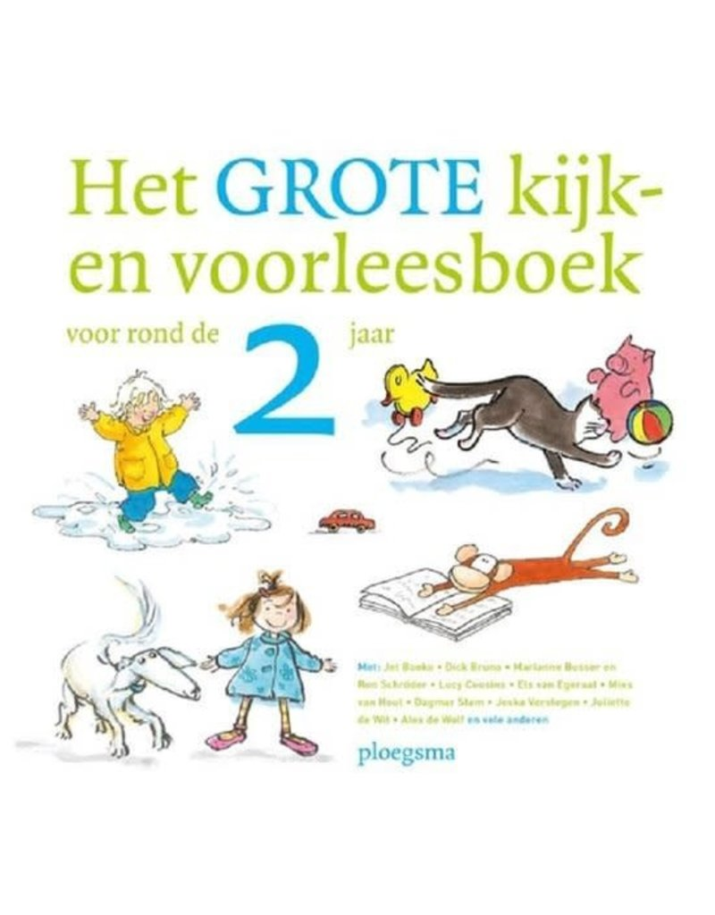 Boeken Boek : Het grote kijk-en voorleesboek voor rond de 2 jaar
