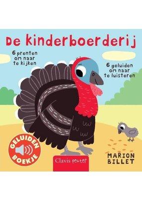 Boeken Boek : De kinderboerderij ( geluidenboek)