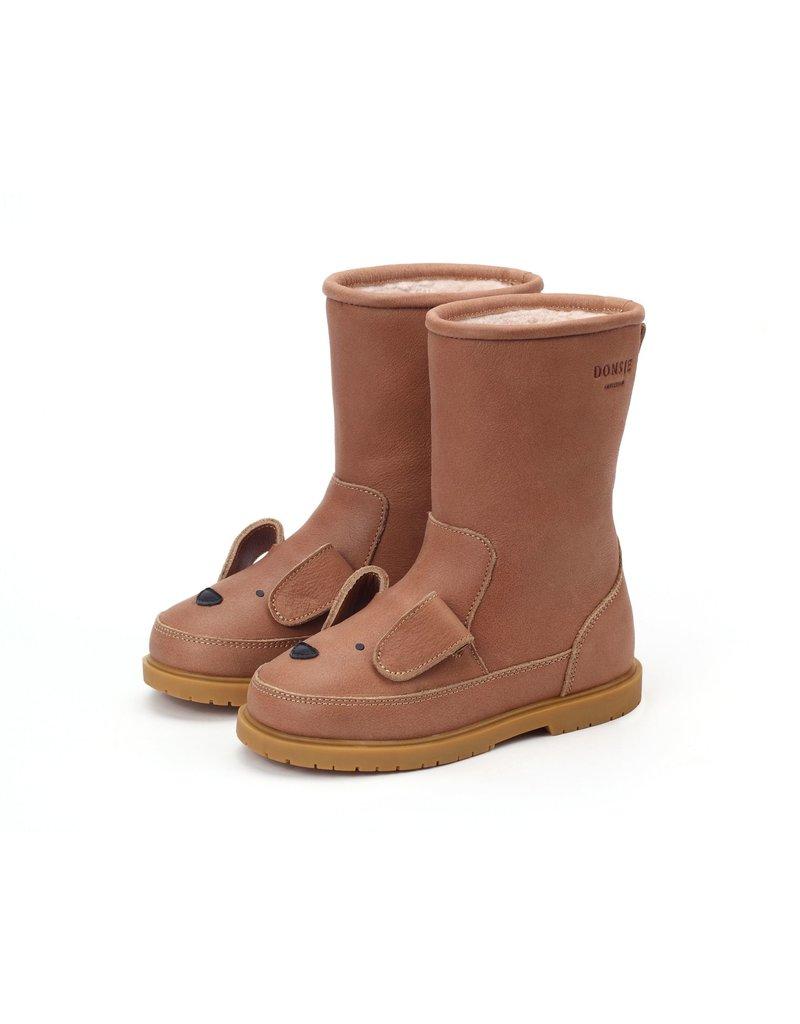 Donsje Amsterdam Donsje Amsterdam : Wadudu classic lining - Dog - Hazelnut leather