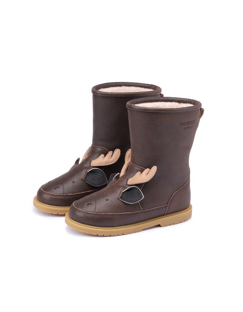 Donsje Amsterdam Donsje Amsterdam : Wadudu exclusive lining Moose - Dark brown leather