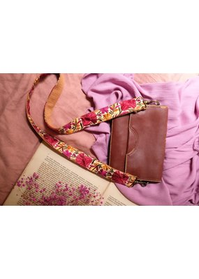 La N'Atelier La N'Atelier - Strap licht roze/gele bloem