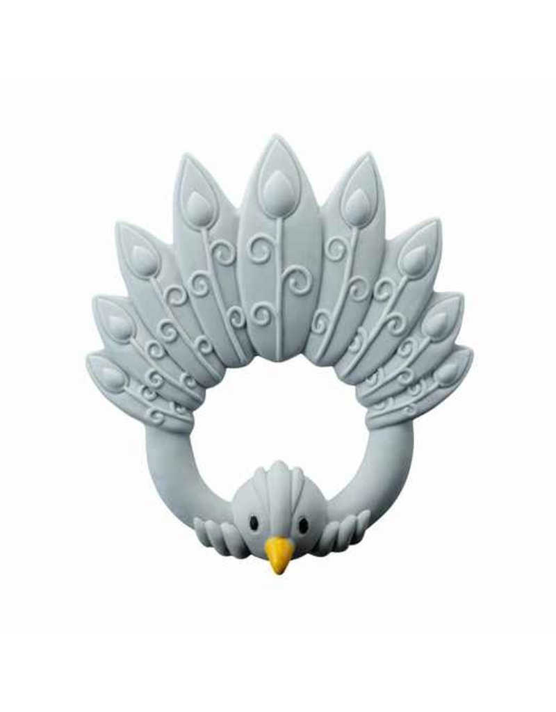 Natruba Natruba - Bijtring pauw grijs
