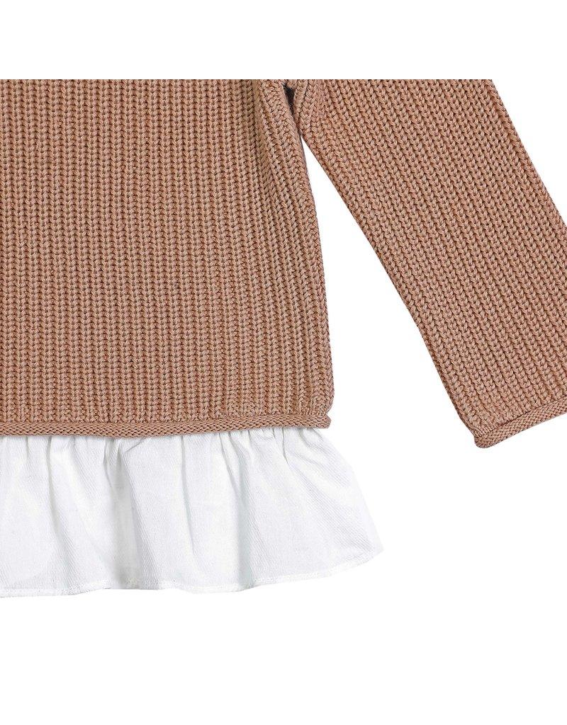Donsje Amsterdam Donsje Amsterdam : Flossy sweater - Pink Clay