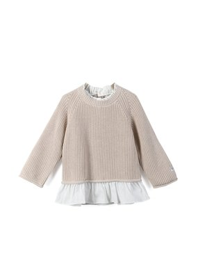 Donsje Amsterdam Donsje Amsterdam : Flossy sweater- Soft sand