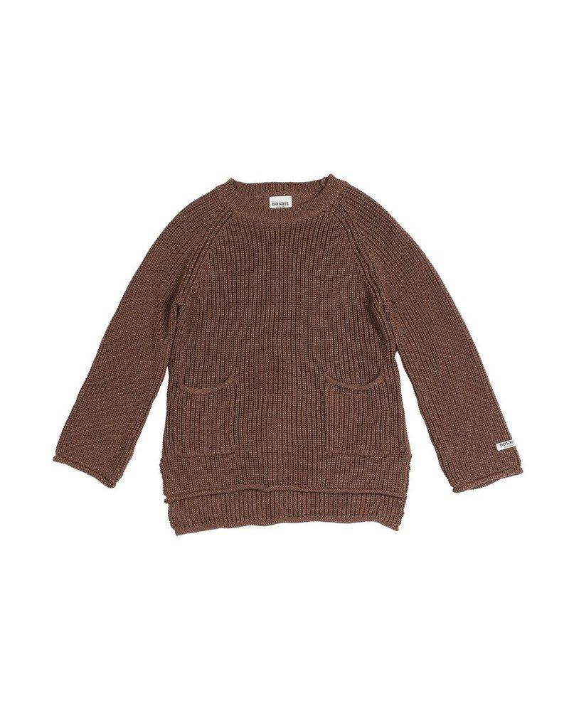 Donsje Amsterdam Donsje Amsterdam : Stella sweater - Dark mocha