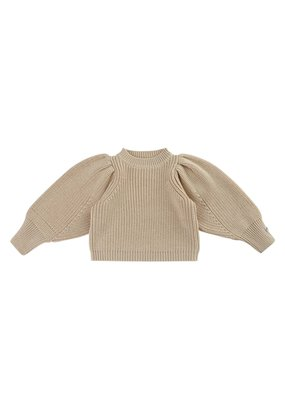 Donsje Amsterdam Donsje Amsterdam : Mega sweater - Clay melange