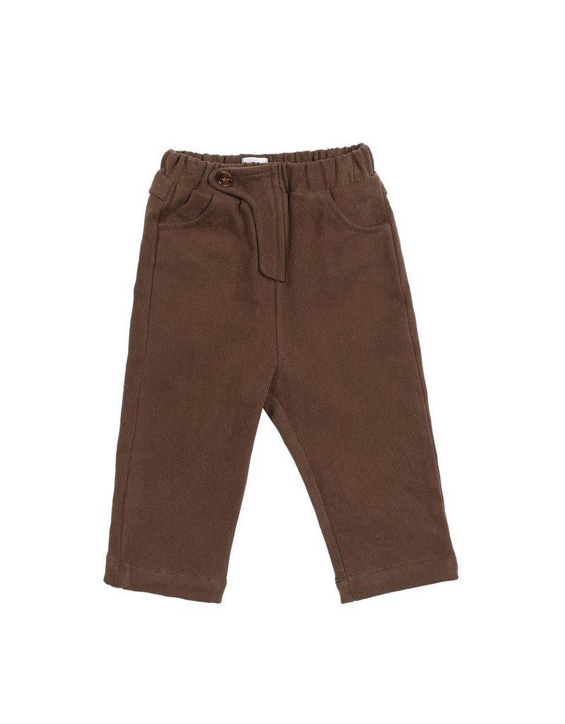 Donsje Amsterdam Donsje Amsterdam : Beekie trousers - Dark brown
