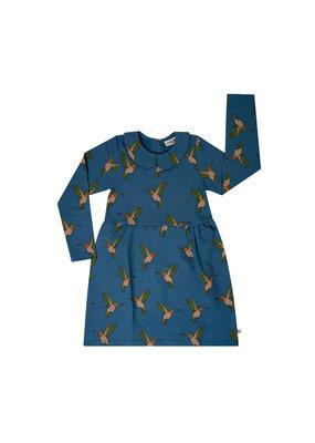 Carlijn Q Carlijn Q : Hummingbird - collar dress