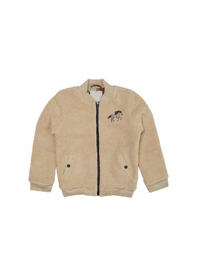 Carlijn Q Carlijn Q : Wild horse - teddy bomber jacket