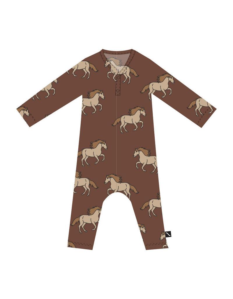 Carlijn Q Carlijn Q : Wild horse - newborn jumpsuit