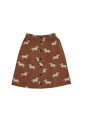 Carlijn Q Carlijn Q : Wild horse - skirt wt buttons, french terry