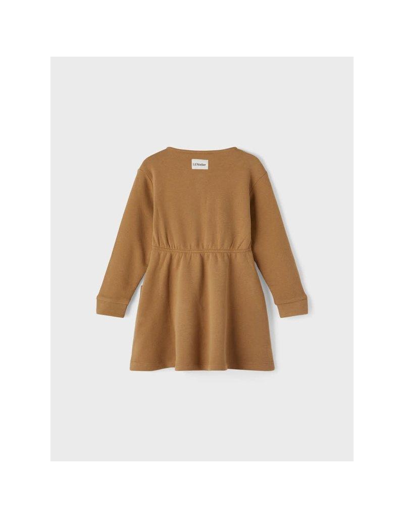 Lil ' Atelier Lil ' Atelier : Loose sweat dress - ermine