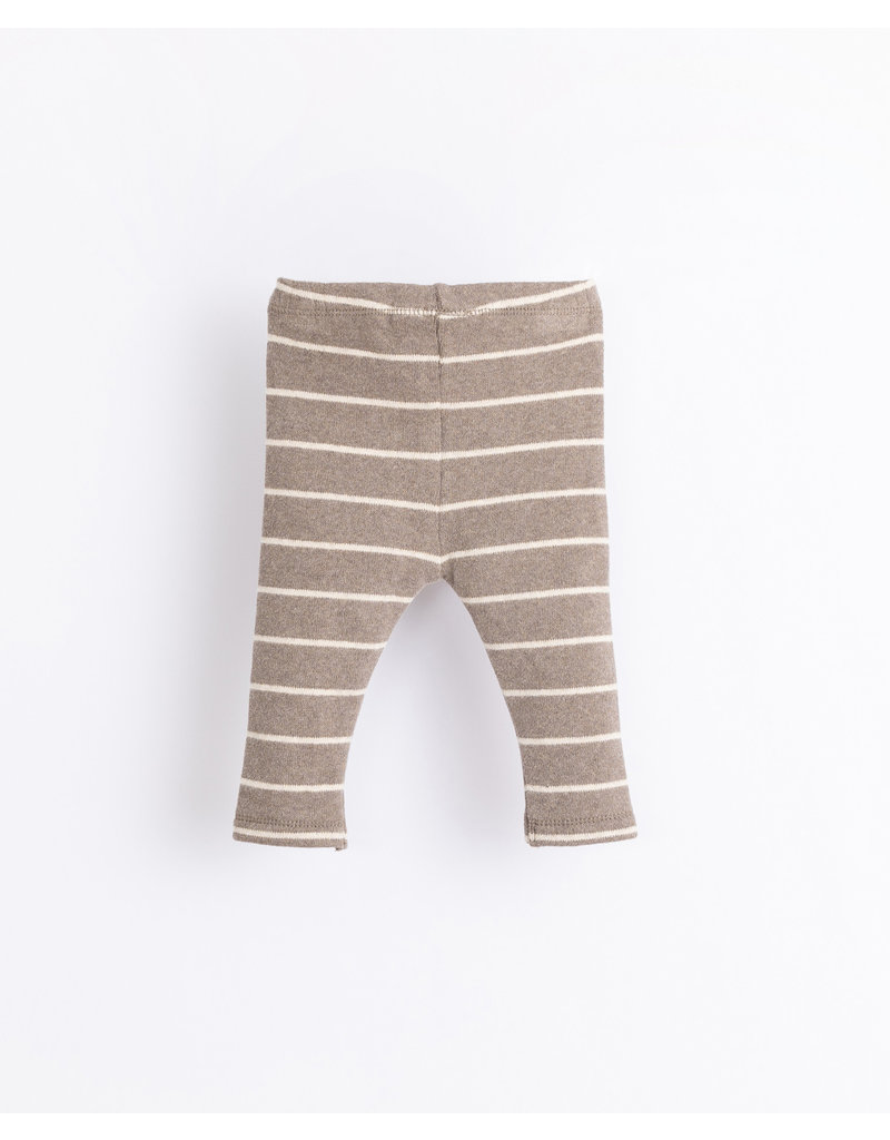 Play Up Play up - Striped legging grey R265G