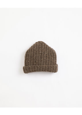 Play Up Play Up : Knitted Beanie Brown