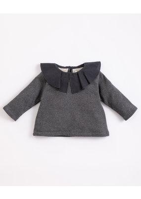 Play Up Play Up : Fleece sweater met kraag(M051)