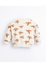 Play Up Play Up : Printed fleece sweater Dog