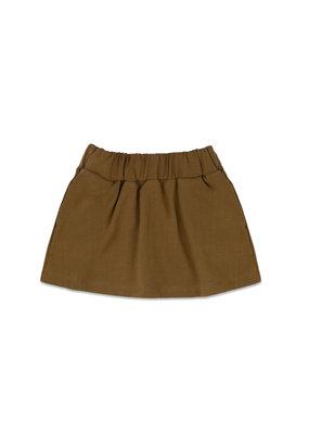 Phil & Phae Phil & Phae : Classic skirt - bronze olive