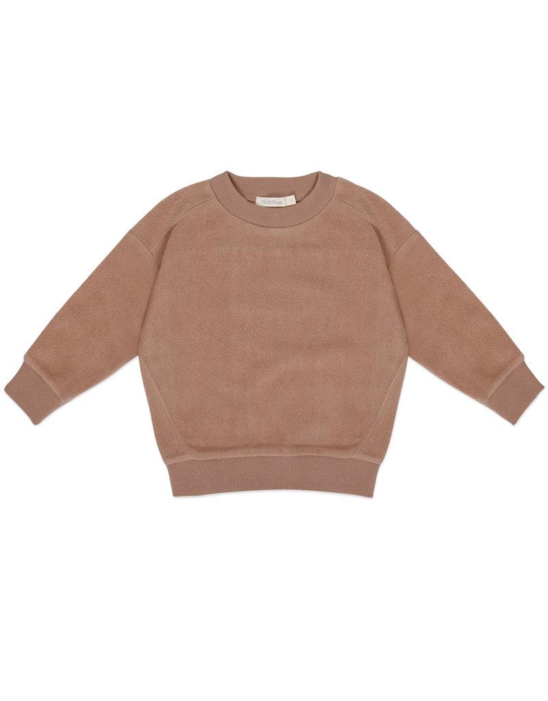 Phil & Phae Phil & Phae : Teddy baby sweater - creamy mocha