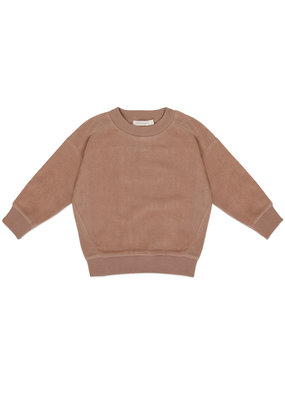 Phil & Phae Phil & Phae : Oversized teddy sweater - creamy mocha