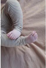 Phil & Phae Phil & Phae : Leggings stripe - chestnut