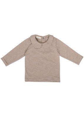 Phil & Phae Phil & Phae : Collar tee l/s striped