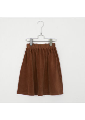 Lötiekids Lötiekids : Corduroy skirt - rib cinnamon
