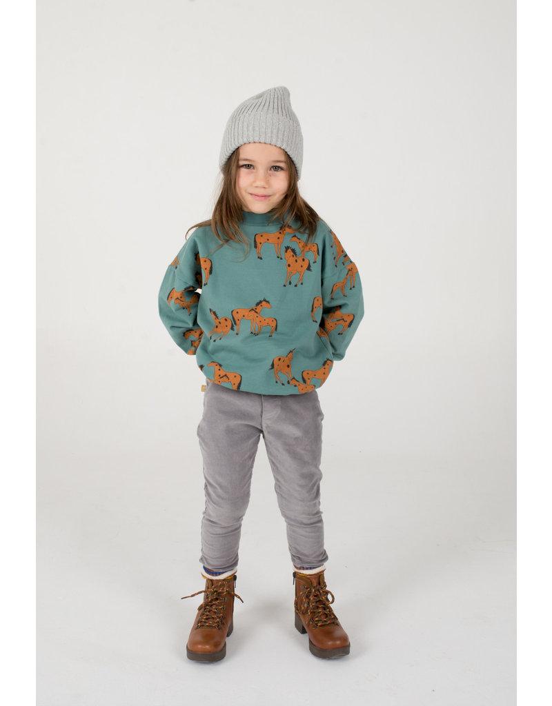 Lötiekids Lötiekids : Corduroy pants - grey