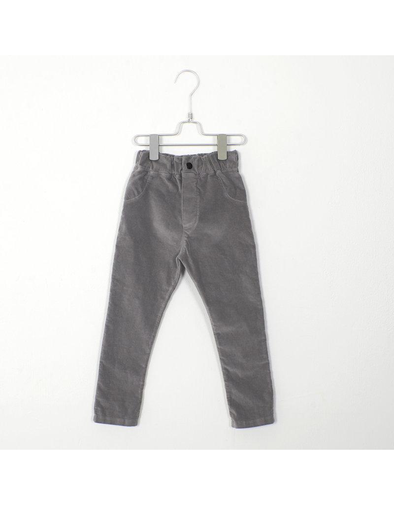 Lötiekids Lötiekids : 5 pockets - solid grey