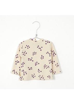 Lötiekids Lötiekids : High baby t-shirt - Blueberries cream