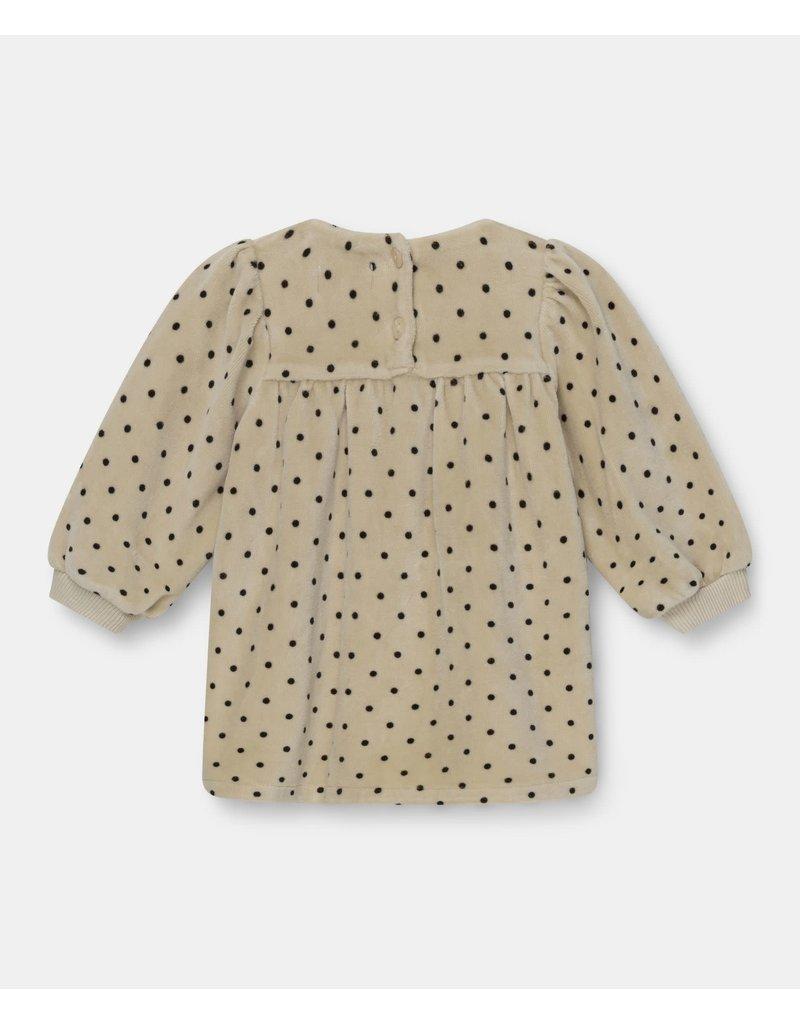 My Little Cozmo My little cozmo : Polka dress dot - stone