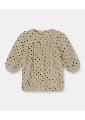 My Little Cozmo My little cozmo :  Irene Polka dress dot - stone