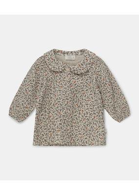 My Little Cozmo My little cozmo : Cecilia blouse  bubble gauze - stone