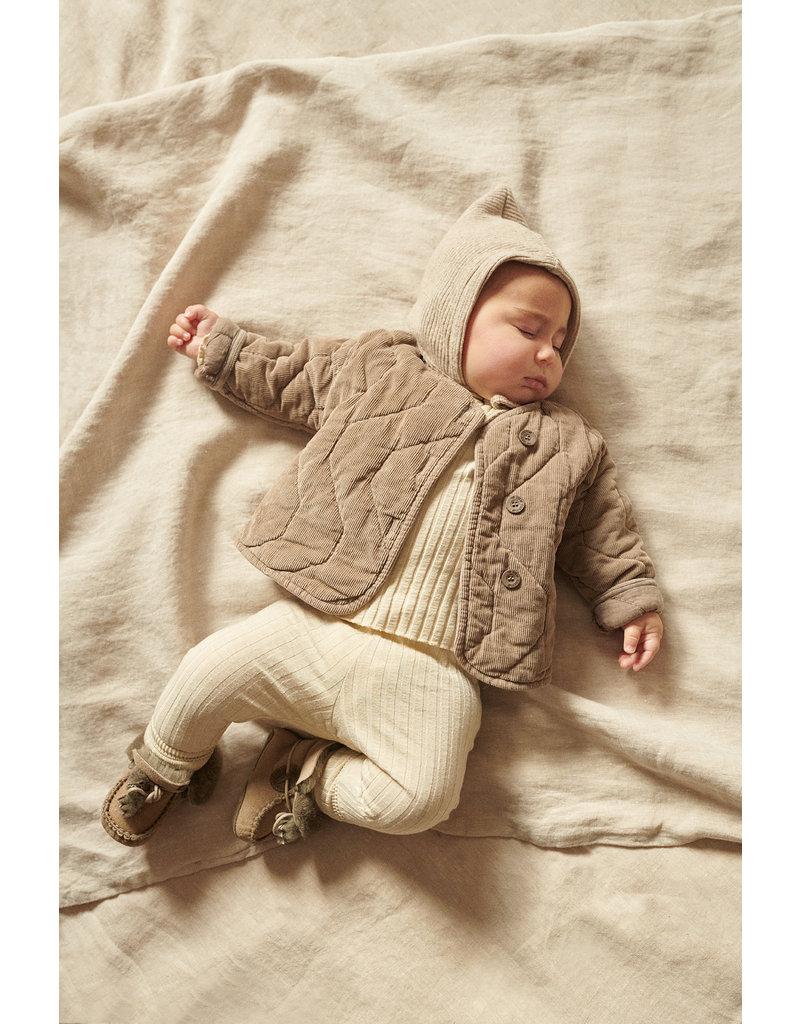 My Little Cozmo My little cozmo : Jana legging cotton rib - stone