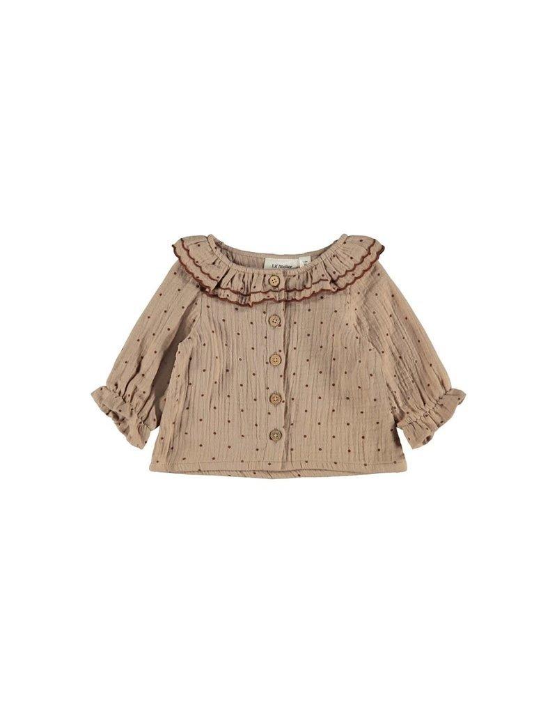 Lil ' Atelier Lil' Atelier: Ester shirt Almondine