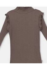 My Little Cozmo My little cozmo : Elisek - cotton rib knit - taupe