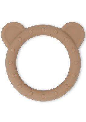 Mushie Mushie : Theeter bear naturel