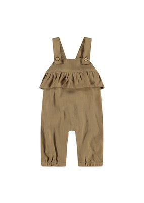 Lil ' Atelier Lil ' Atelier : Loose overall pant girl - Ermine