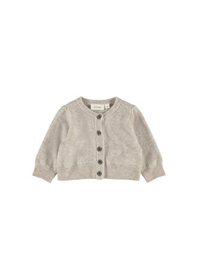 Lil ' Atelier Lil ' Atelier : Knit card cashmere - Peyote melange