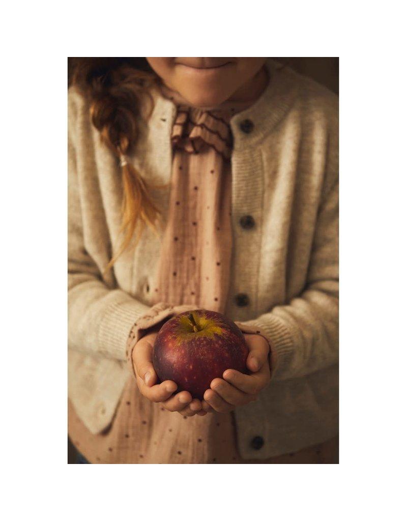 Lil ' Atelier Lil ' Atelier : Knit card cashmere - grijs peyote melange