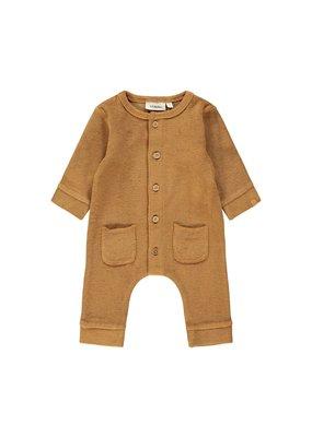 Lil ' Atelier Lil ' Atelier : Sweatsuit - velvet Tobacco brown