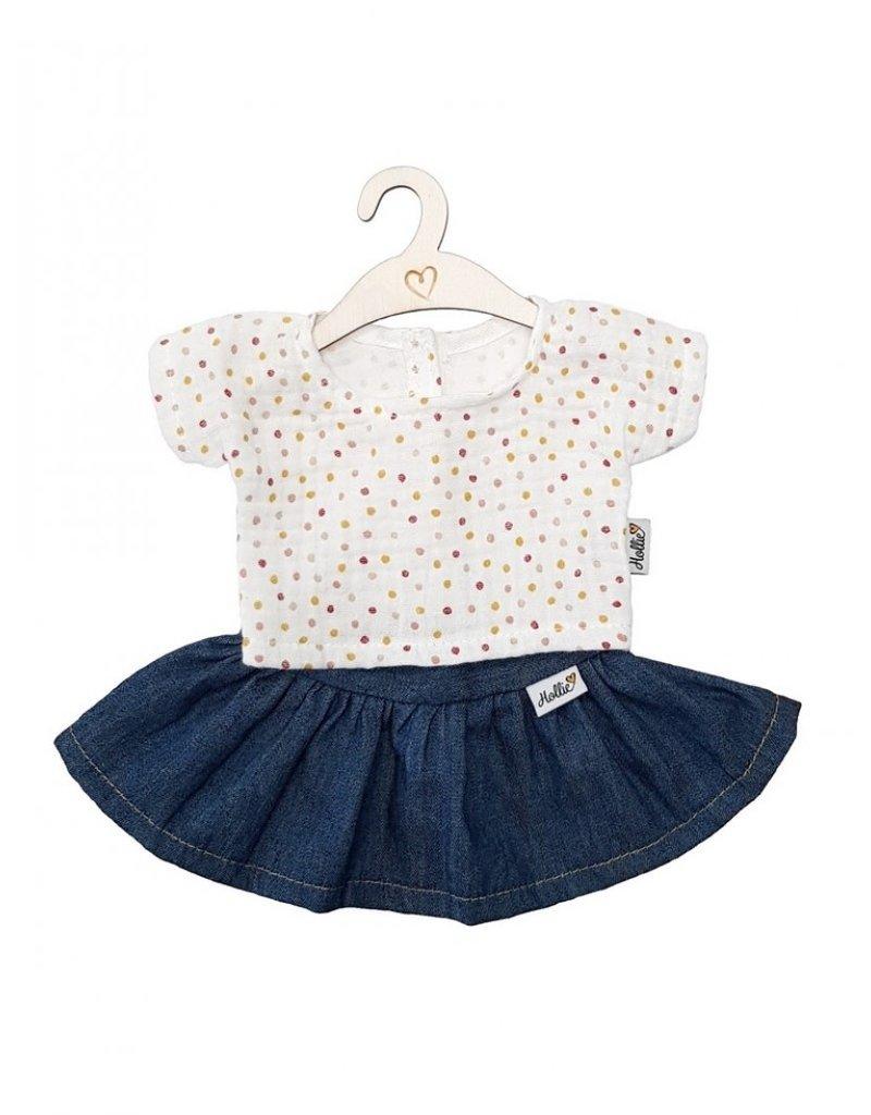 Hollie Hollie : poppenkleding shirt en rok