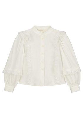 Charlie Petite Charlie Petite : Charmaine blouse wit