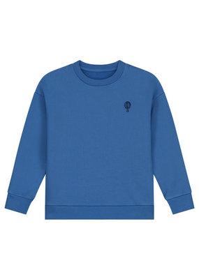 Charlie Petite Petite Charlie : Sweater jogging kobalt blauw