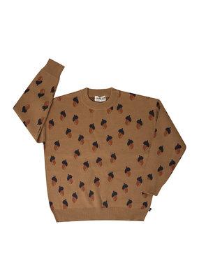 Carlijn Q Carlijn Q : Acorn knitted sweater - girl