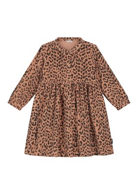 Daily Brat Daily Brat : Brooke leopard corduroy dress hazel