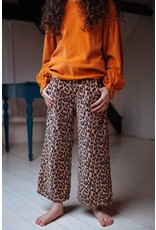 Daily Brat Daily Brat : Bella leopard corduroy pants hazel
