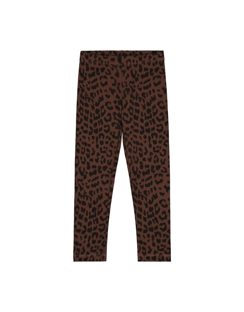 Daily Brat Daily Brat : Leopard pants hickory brown groot