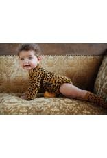 Daily Brat Daily Brat : Joe leopard suit long sleeve - sandstone