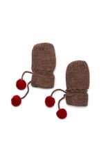 Konges Sløjd Konges Sløjd : Miro knit mittens - bunny brown melange ( handschoenen )