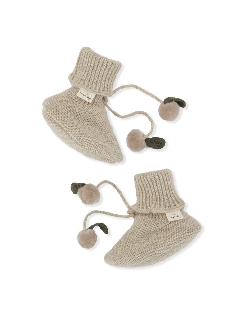 Konges Sløjd Konges Sløjd : Miro knit boots - White creme melange